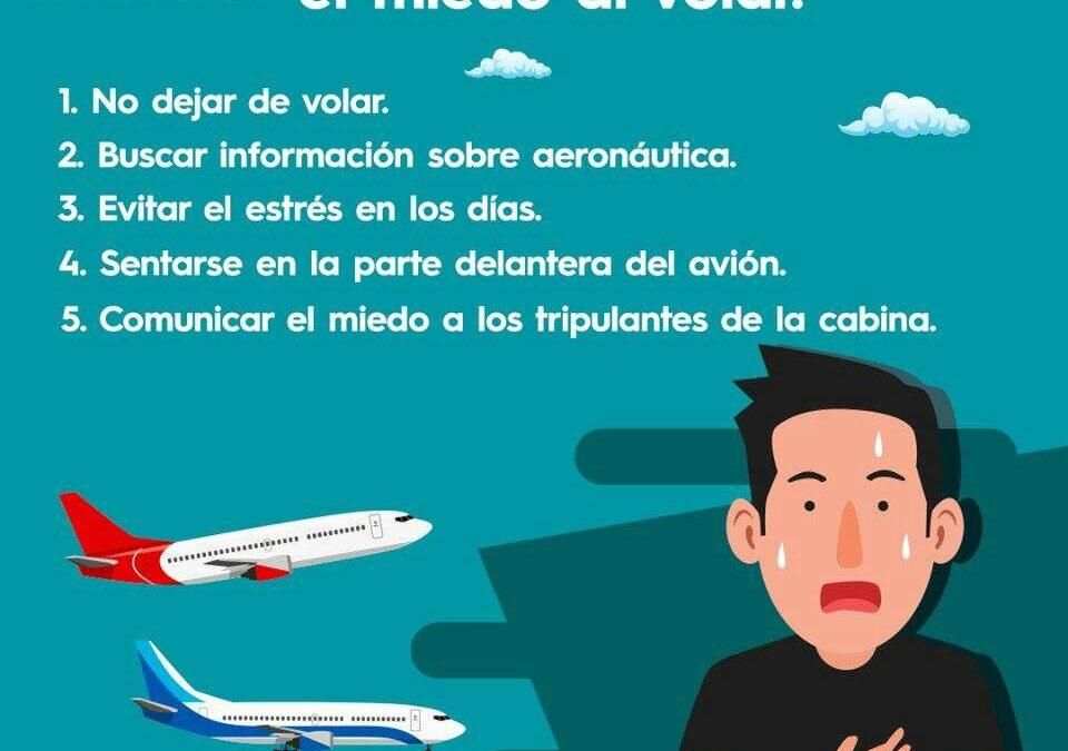 5 tips para perder el miedo al volar